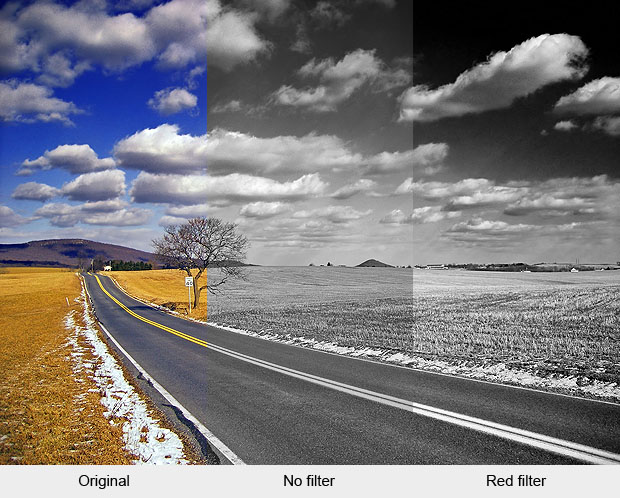 Black And White Photography Color Filters