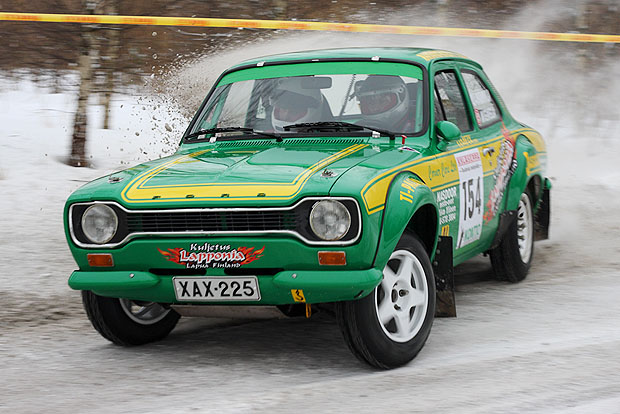 Ford Escort rally car
