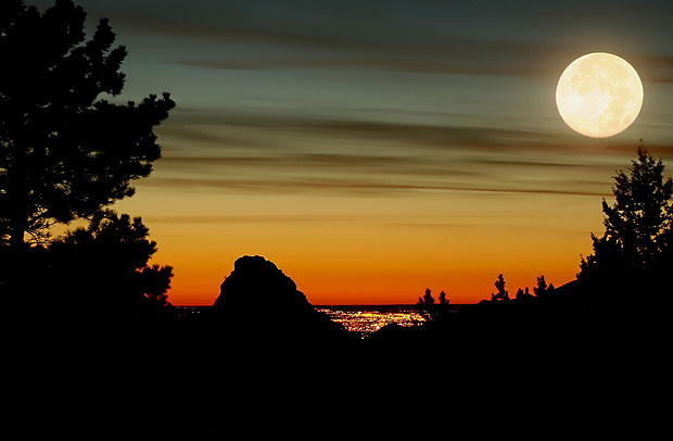 How To Photograph The Moon Photography Mad - Long exposure photographs capture entire day sunrise sunset
