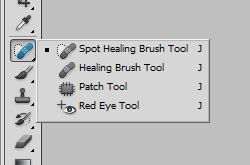 Photoshop's Red Eye tool